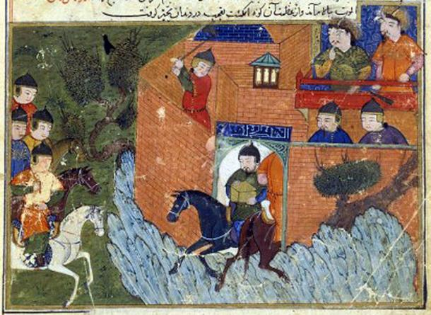 The siege of Alamût in 1256. (Public Domain)