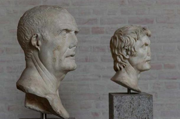 The so-called 'Marius' and 'Sulla' busts. (Egisto Sani/ CC BY NC SA 2.0 ) The bust in the foreground depicts the consul - general Gaius Marius (157 - 86 BC); behind him, his contender Lucius Cornelius Sulla Felix (c. 138 – 78 BC).