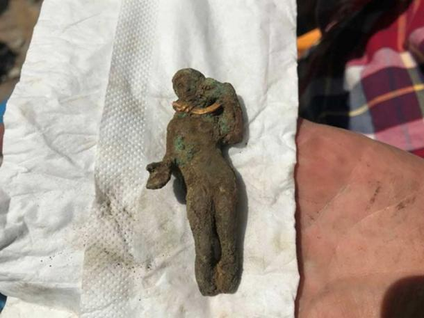 The statuette which is believed to depict Aphrodite. (podtepeto.com)
