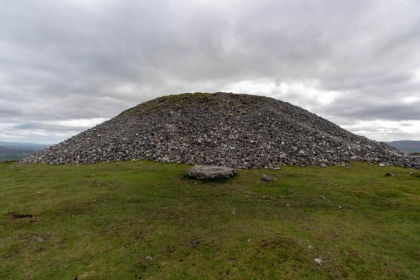 The supposed tomb of Queen Maeve at Knocknarea. Credit: Ioannis Syrigos