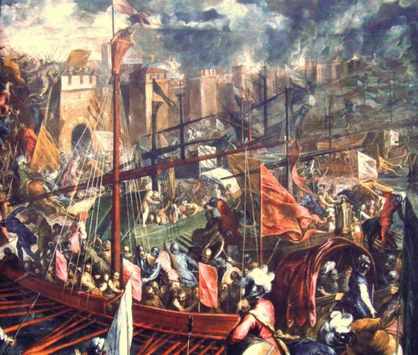 The taking of Constantinople. (World Imaging / Public Domain)
