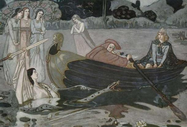 The taking of Excalibur by John Duncan