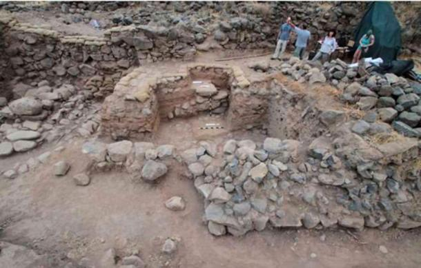 The team that found the City Gate has been excavating Bethsaida for 32 years. (Rami Arav / University of Nebraska)