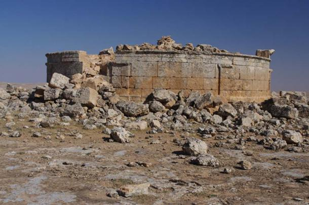 The temple of the Seven Planets at Sogmatar, Turkey