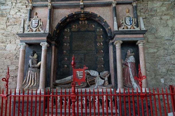 The tomb of Sir Richard Boyle. Credit: Ioannis Syrigos