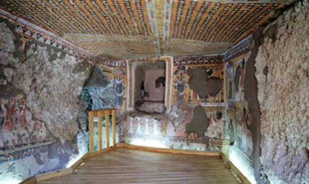 The tombs at Khonsu Temple in Karnak have been restored and will be open to visitors. (Ahram Online)