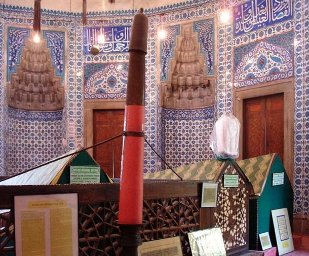 El türbe (mausoleo) de Hürrem Sultan en la mezquita de Solimán en Fatih, Estambul, Turquía. (CC BY SA 2.5)