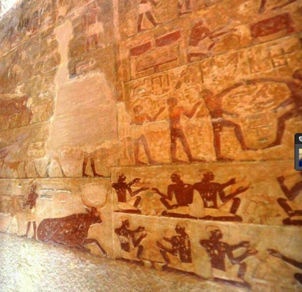 The two tombs were discovered in 1925 and are now being reopened to visitors.