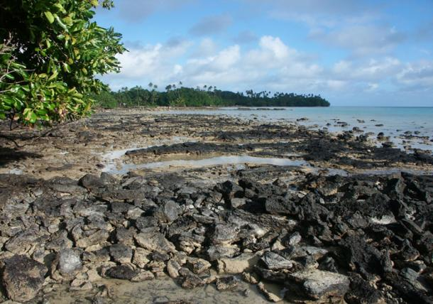 The volcanic basalt rocks found on Wallis and Futuna. (Fotolia)