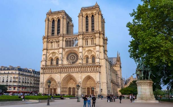 The western façade of Notre Dame de Paris Cathedral, France. Source: Mistervlad / Adobe.