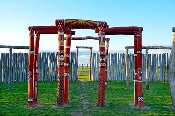 The woodhenge of Pömmelte has four entrances that correspond with the days laying halfway between the equinoxes and the solstices. (CC0)