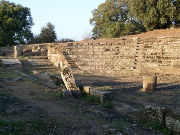Theater of Tusculum. (Public Domain)