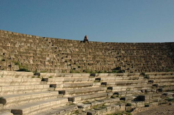 Theater of the ancient city of Salamis