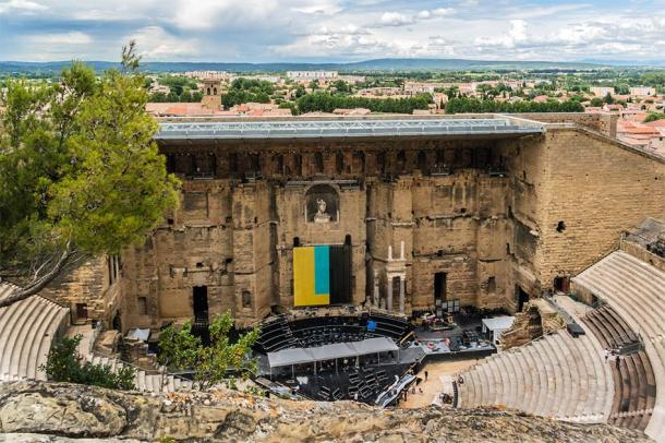 Ancient Roman Theatre of Orange, France. (dbrnjhrj / Adobe Stock)