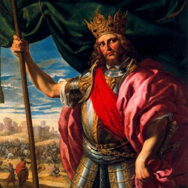 Theodoric The Great, King of the Ostrogoths (AD  - 526 AD). (Public Domain)