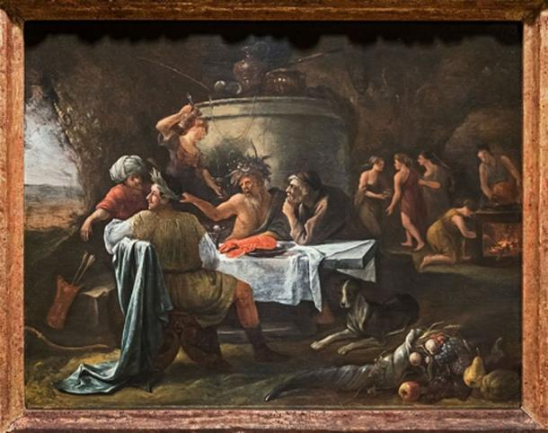 'Theseus and Achelous' (1659-1660) by Jan Steen. (Public Domain)