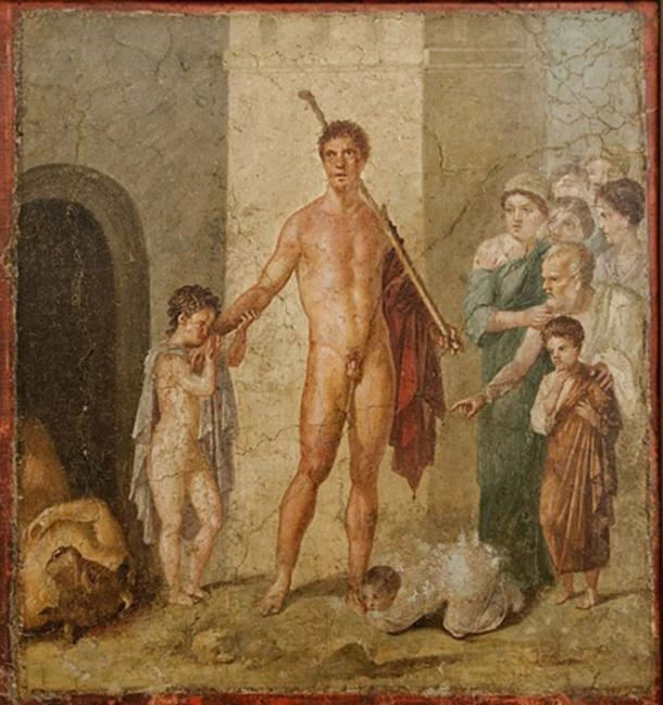 Theseus honored by the Athenians after he killed the Minotaur. (Public Domain)