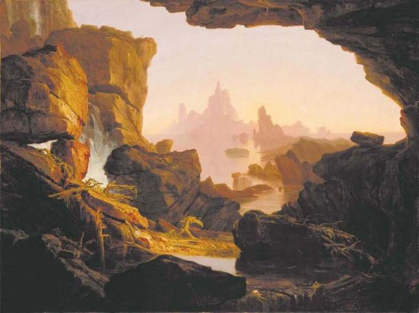 Thomas Cole – The Subsiding of the Waters of the Deluge – 1829
