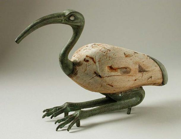 Thoth is often depicted as an Ibis. Egypt, Late Period, 712-332 B.C.