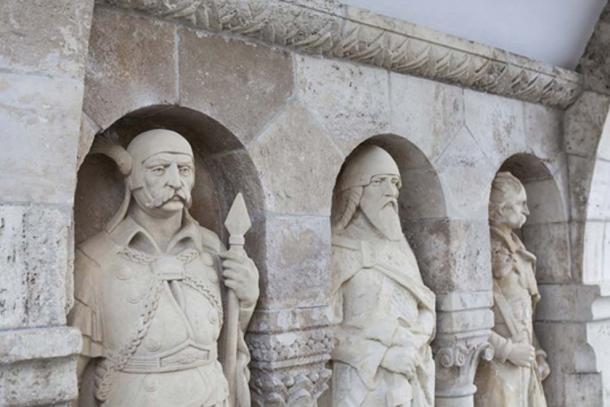 Three of the seven founding Hungarian chieftains (Rocker Stocker/ Fotolia)