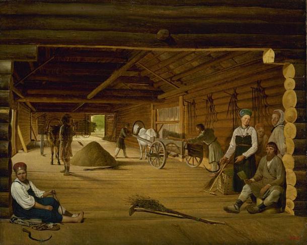 Threshing Barn