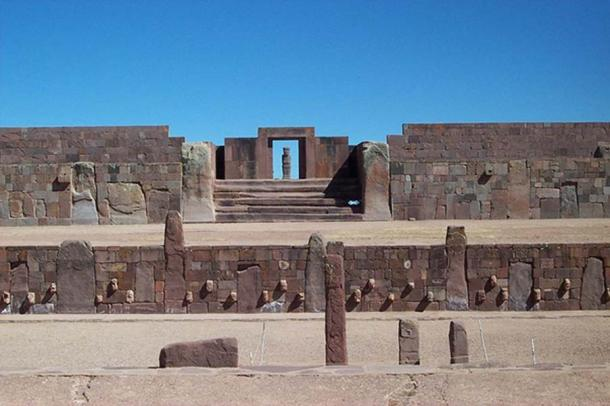 Tiahuanaco Temple, Bolivia. (Public Domain)