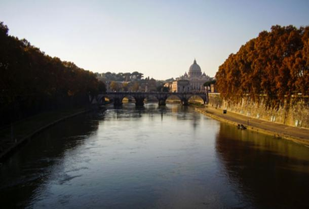 Tiber River in Rome. (Vural Yavas / Public Domain)