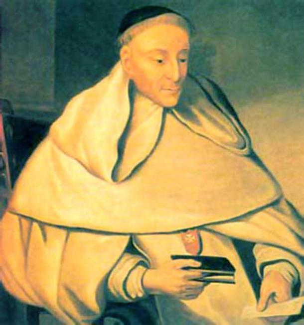 Portrait of Tirso de Molina.