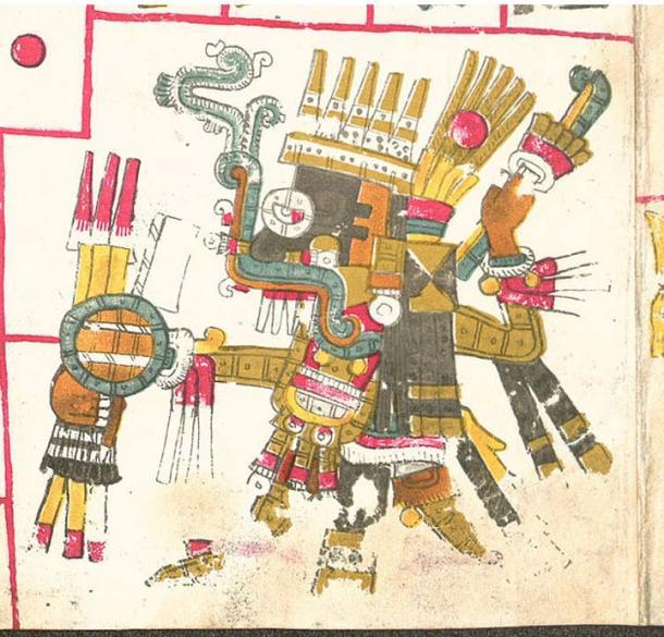 Tlaloc in the Codex Borgia.