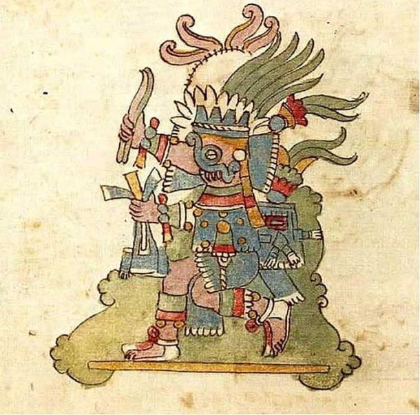 Tlaloc in the Codex Rios. (Public Domain)