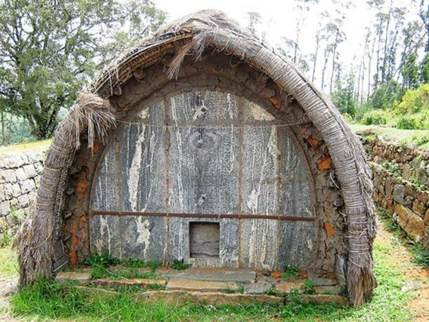 Toda hut. Ooty, Tamil Nadu, India.