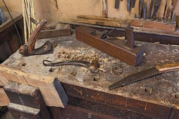 Today we use many of the same hand tools as our woodworking ancestors. (ermess / Adobe)
