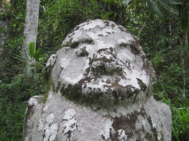 Tokalalaea Megalith, Central Sulawesi, Indonesia.