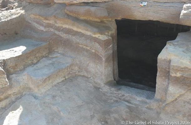 Tomb 2, exterior.