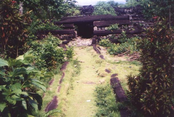 Tomb at Nan Madol.