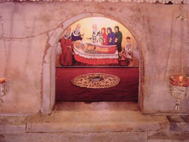 Tomb in Bari, Italy, where the remains previously believed to be Saint Nicholas are currently kept