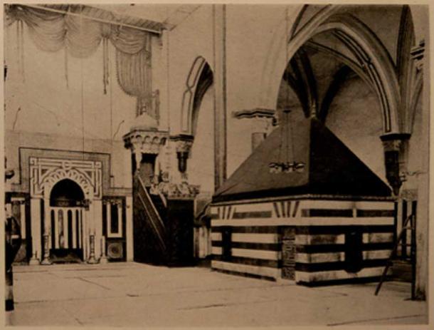 Tomb of Isaac, c. 1911