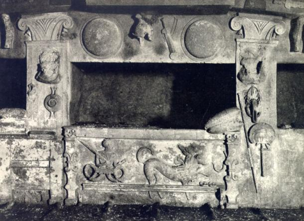 Tomb of Reliefs, Cerveteri.