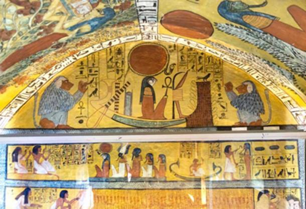 Tomb of Sennedjem in Deir el-Medina where the mummies were discovered. (kairoinfo4u / CC BY-SA 2.0)