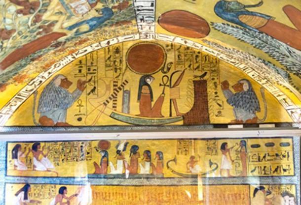 Tomb of Sennedjem in Deir el-Medina where the mummies were discovered. (kairoinfo4u / CC BY-SA 2.0)