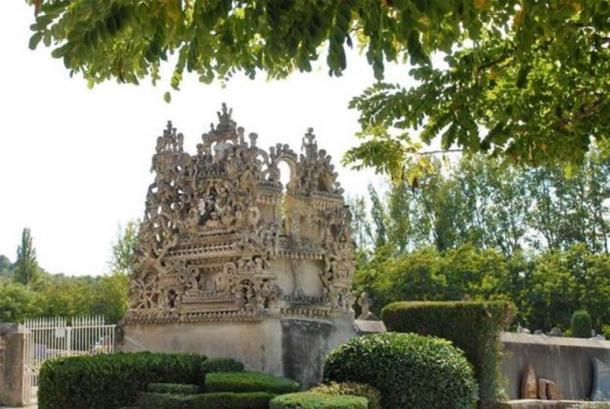 """The """"Tomb of Silence and Endless Rest"""" also by Ferdinand Cheval, the creator of the Palais Idéal."""