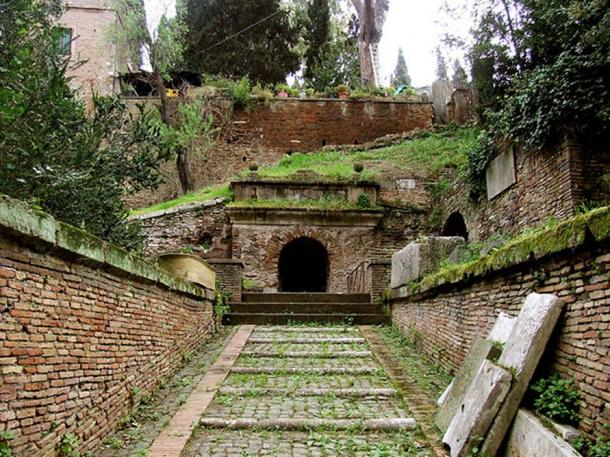 Tomb of the Scipios, in use from the 3rd century BC to the 1st century AD. (Pippo-b/CC BY SA 3.0)