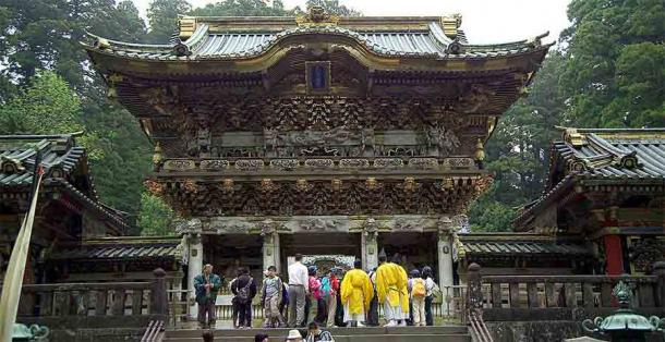 Final resting place of Tokugawa Ieyasu at the incredible Nikko Toshogu Shrine, northeast of modern-day Tokyo. (Public domain)