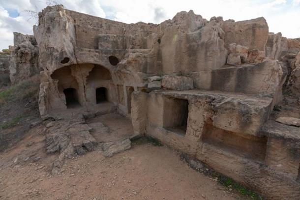 When 19th century travelers came upon the Tombs of Kings, they first thought it was the remains of a castle or city.