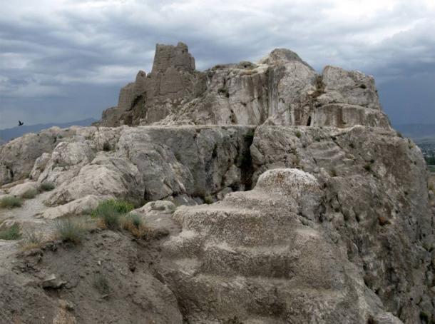 Top of Castle Van in Turkey