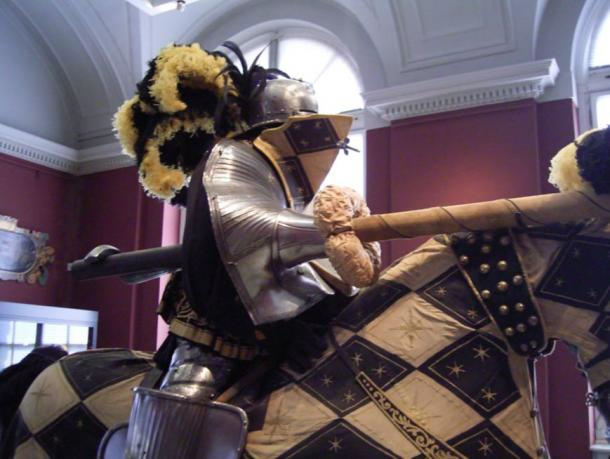 Tournament armor from the Dresden Armory, 16th to 17th century