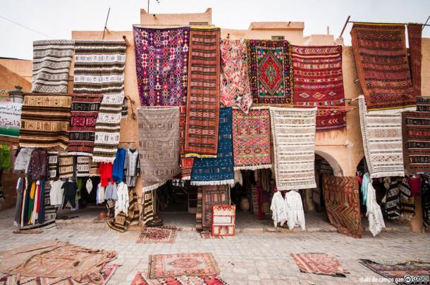 Traditional Ghardaïa rugs (CC By SA 2.0)