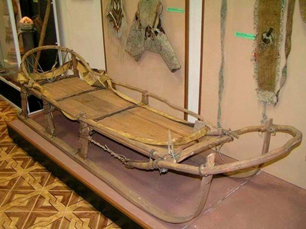 Traditionally made sled (The Siberian Times)