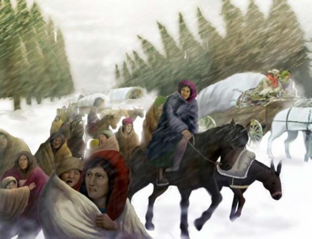 Trail Of Tears Makseph Deviant Art