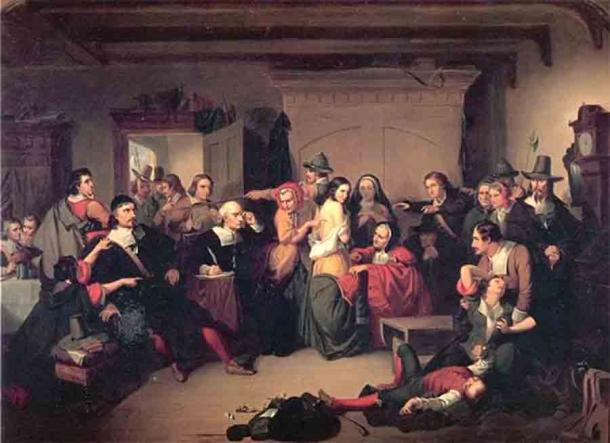 Изучение ведьмы на суде в США в середине XIX века нашей эры.